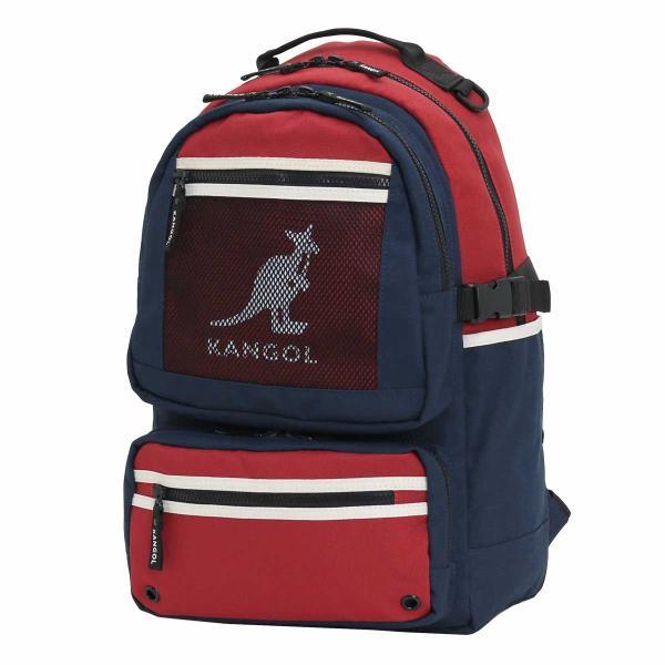 リュック カンゴール KANGOL リュックサック デイパック バックパック バッグ メンズ レディース 男女兼用 ブランド サイドファスナー サイドポケット セール|pro-shop|16