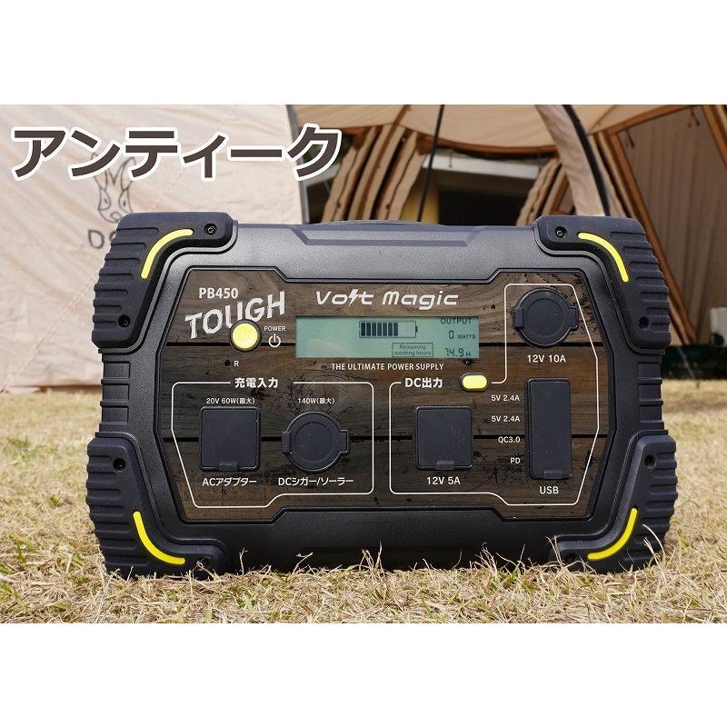限定! ポータブル電源 PB450タフバッグセット(レビューでバッグ代0円) 車中泊 キャンプ  停電対策 大容量 バッテリー ボルトマジック ワイルド電源|pro-tecta-shop|25