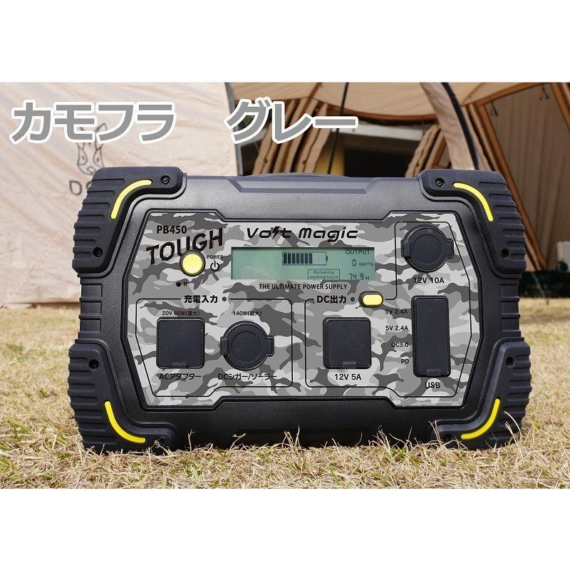 限定! ポータブル電源 PB450タフバッグセット(レビューでバッグ代0円) 車中泊 キャンプ  停電対策 大容量 バッテリー ボルトマジック ワイルド電源|pro-tecta-shop|23