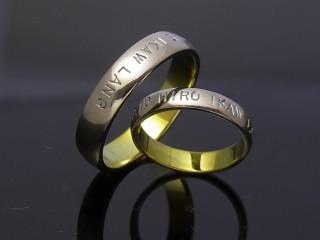甲丸結婚指輪