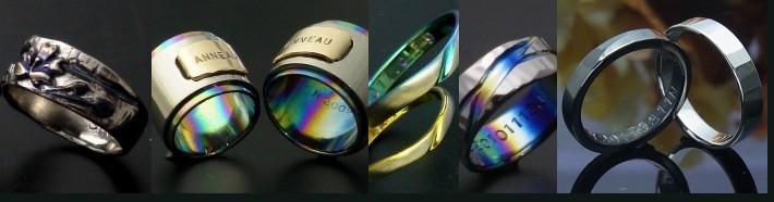 デザイン実績結婚指輪サンプル集