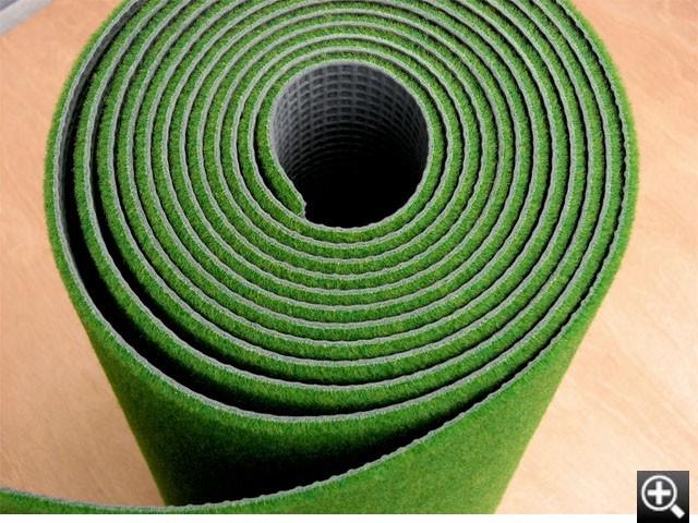 本芝感覚の繊維が密生したパターマット
