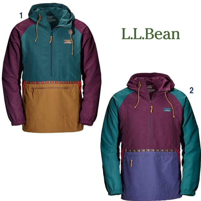 L.L. Bean LL Bean エルエルビーン メンズ マウンテン クラシック アノラック マルチカラー 505285 日本サイズ