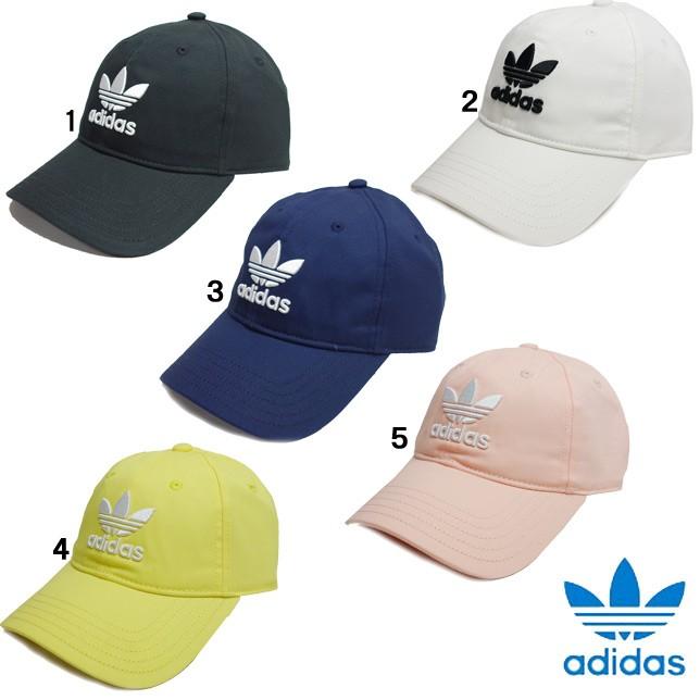 アディダス オリジナルス トレフォイル キャップ MLH55 adidas Originals TREFOIL CAP メンズ レディース 帽子