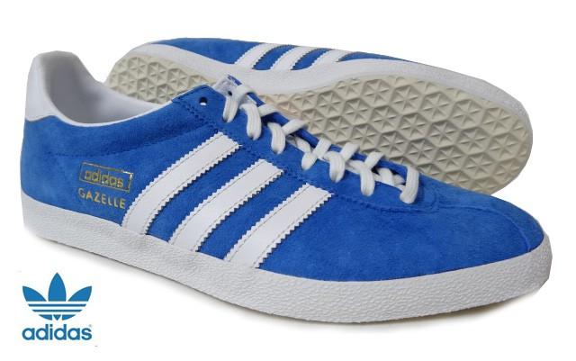 adidasスニーカー ブルー