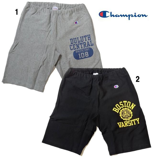Champion チャンピオン リバースウィーブ ショートパンツ ショーツ ロゴ メンズ C3-D502