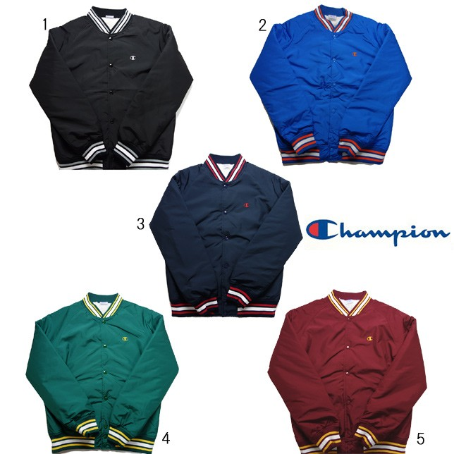 チャンピオン スナップジャケット スタジャン C3-G610