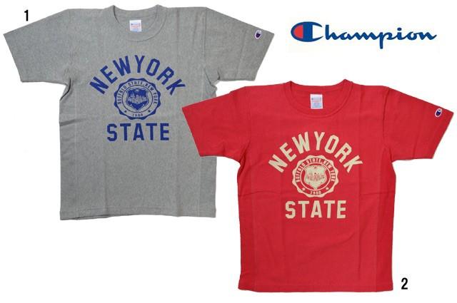 Champion チャンピオン リバースウィーブ プリント Tシャツ NEW YORK TEE