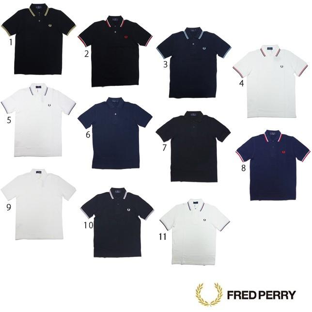 フレッドペリー シャツ M12N 2本 ライン ポロシャツ メンズ FRED PERRY