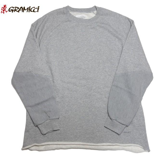 グラミチ Gramicci テールカットスウェット クルーネックスウェット GUJK-17F015