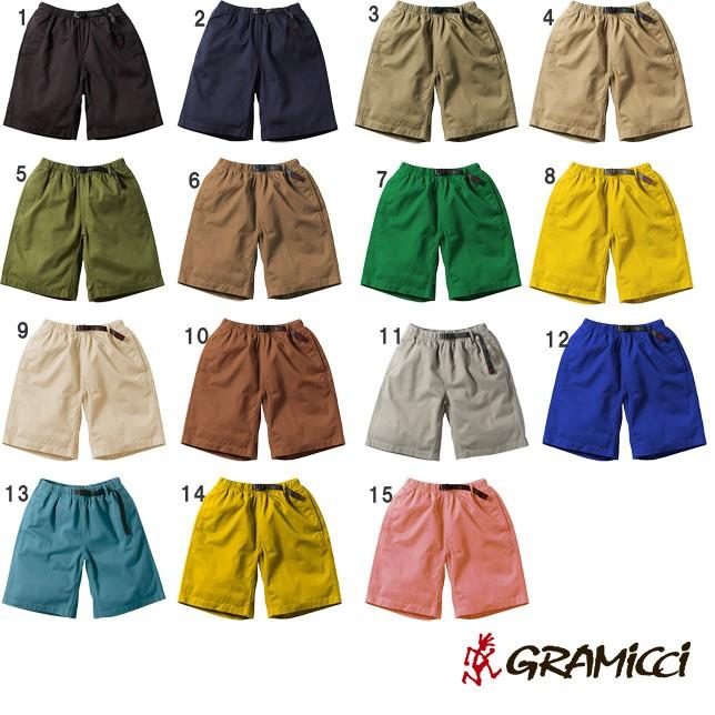 グラミチ ショーツ ショート パンツ ハーフ パンツ GRAMICCI G-SHORTS 8117-56J