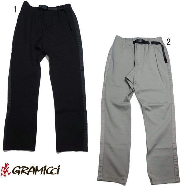 グラミチ ポンチラインパンツ メンズ GRAMICCI PONTE LINE PANTS GMP-18F022