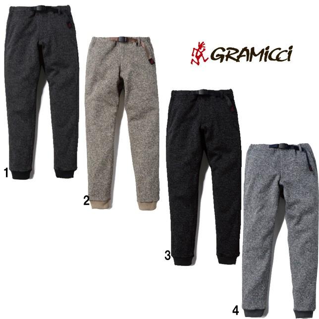 グラミチ Gramicci メンズ レディース ボンディング ニット フリース ナローリブパンツ GUP-19F016