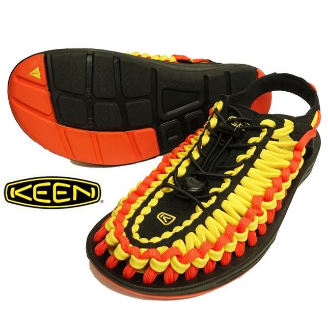 KEEN キーン UNEEK FLAT ユニーク フラット サンダル メンズ アウトドア サンダル スポーツサンダル