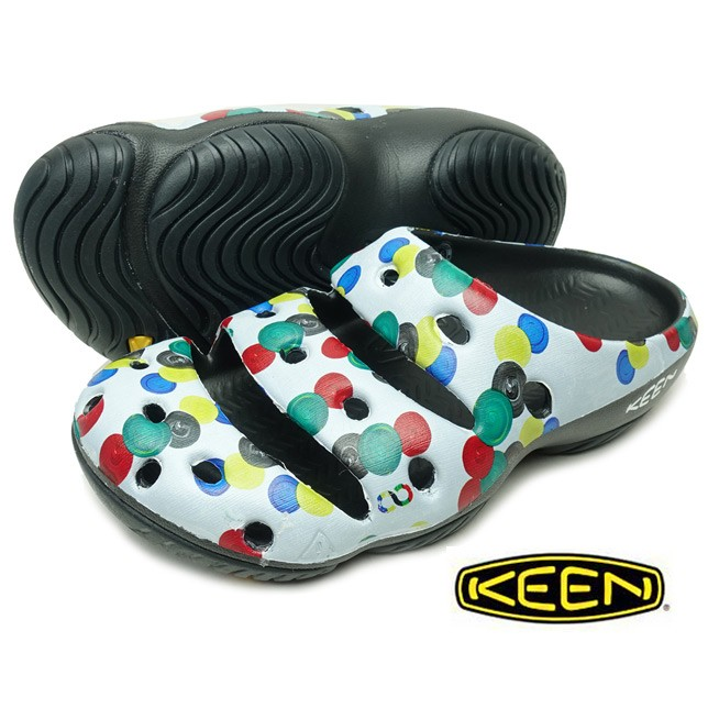 長崎県佐世保市KEEN キーン メンズ ヨギアーツ Sync Dots ドット マルチカラー 1022265 サンダル