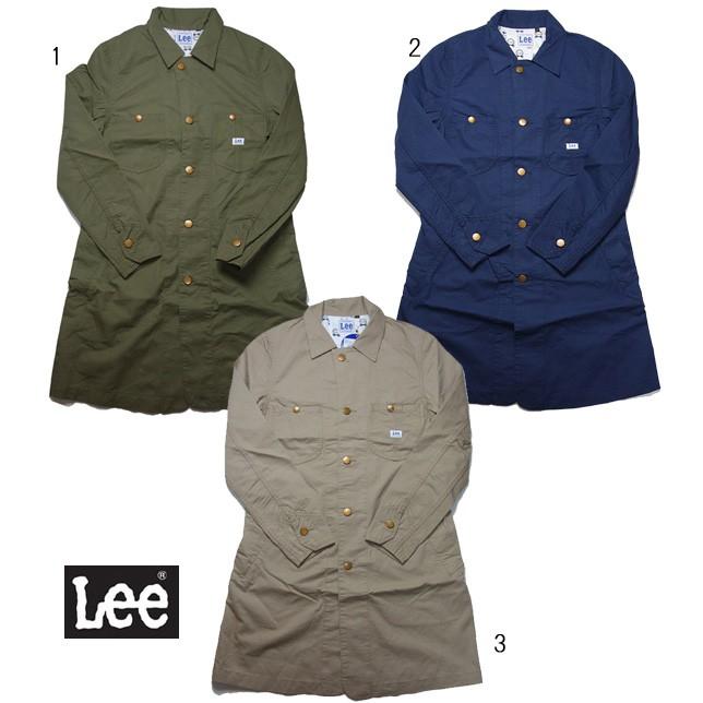 Lee ショップコート SHOP COAT シャツコート ハーフコート レディース LT0945