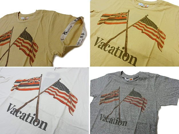 melple メイプル Tシャツ VACATION FLAG TEE