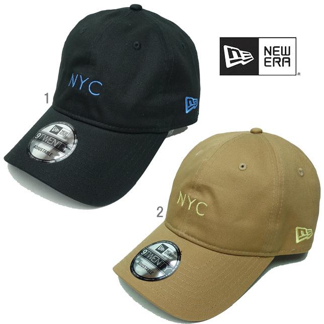 長崎県佐世保市ニューエラ メンズ キャップ 9TWENTY コットンツイル NYC 2トーンストラップ newera 920 CAP