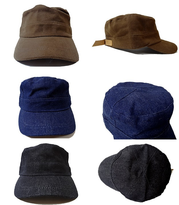 OLDMAN'S オールドマンズ ミリタリー ワーク キャップ 帽子 メンズ OLD-98