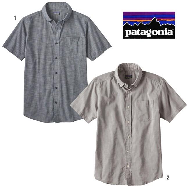 パタゴニア メンズ ライトウェイト ブラフサイド シャツ PATAGONIA 54121 シャンブレーシャツ