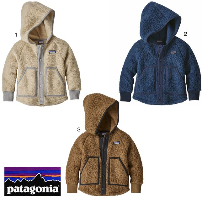 パタゴニア patagonia ベビー レトロ パイル ジャケット 61145 フリースジャケット パーカー 子供 キッズ