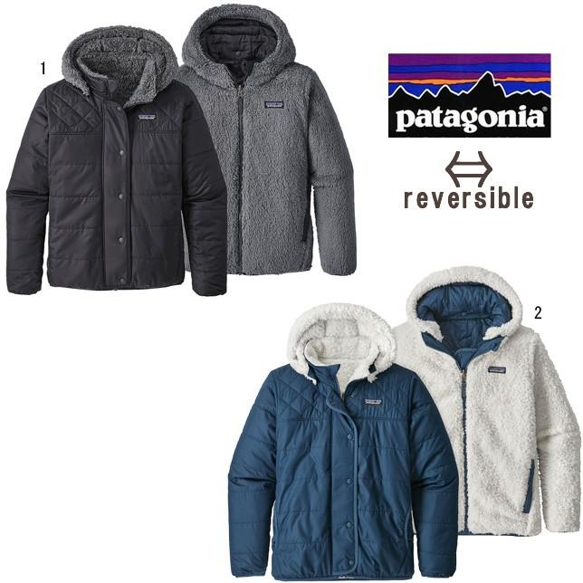 パタゴニア patagonia ガールズ リバーシブル ドリーム ソング フーディ キッズ ジュニア 68180 フリース ナイロン ジャケット