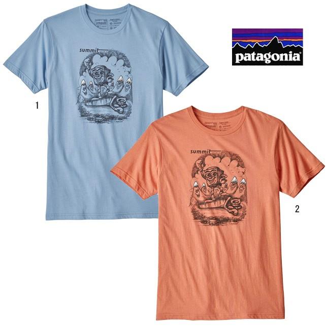 パタゴニア メンズ ナッツ vs. ピトン オーガニック Tシャツ 39195 patagonia メンズ プリントTシャツ