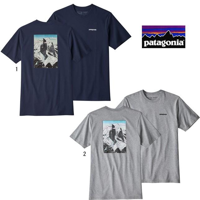 パタゴニア メンズ グレイシャー ビュー ライジング レスポンシビリティー 39168 patagonia メンズ プリントTシャツ