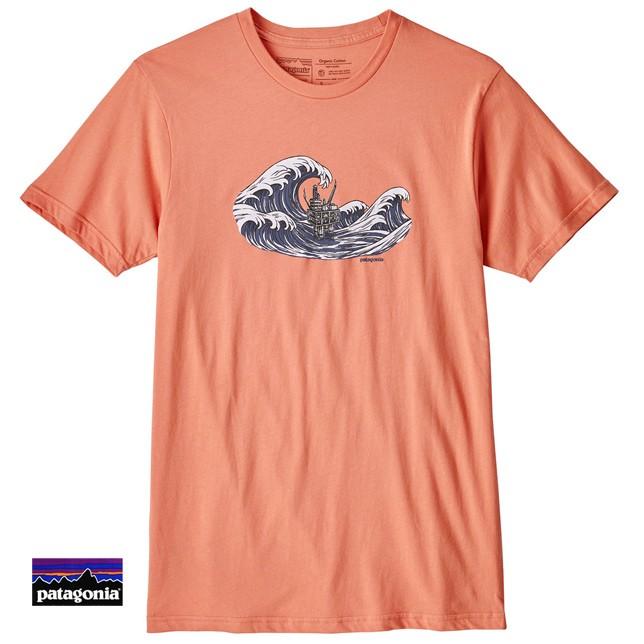 パタゴニア メンズ オイリー オラス オーガニック Tシャツ 39150 patagonia メンズ プリントTシャツ