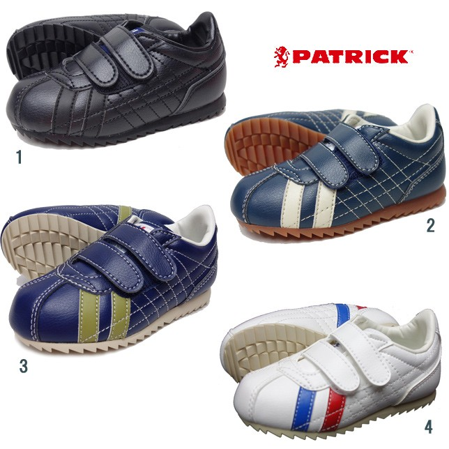 PATRICK パトリック キッズ ベビー SULLY-V シュリー ベルクロ スニーカー