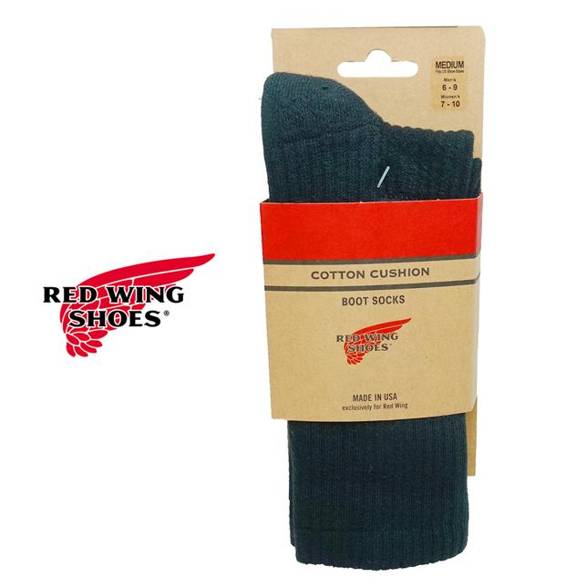 長崎県佐世保市 レッドウィング REDWING コットンクッション ソックス 靴下 97243
