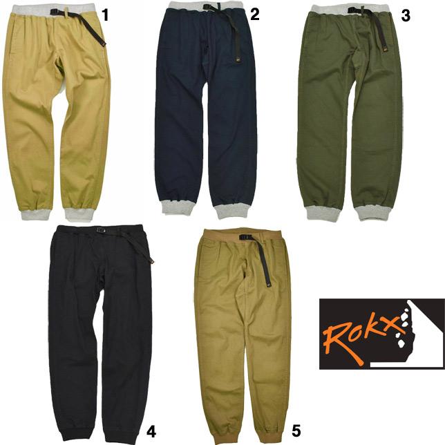 ロックス エムジー ウッド パンツ ROKX MG WOOD PANT ロングパンツ リブパンツ RXMS191020
