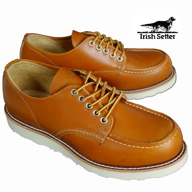 REDWING レッドウィング 9895 Irish Setter Oxford アイリッシュセッターオックスフォード ゴールドラセットセコイア 犬タグ