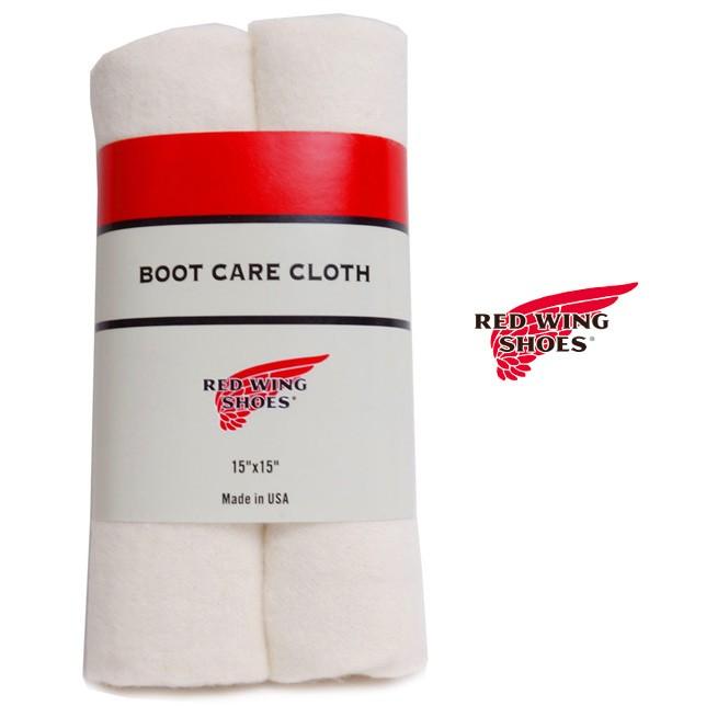 RED WING レッドウィング レッドウイング ブーケアクロス 97195 お手入れ 布 2枚入り