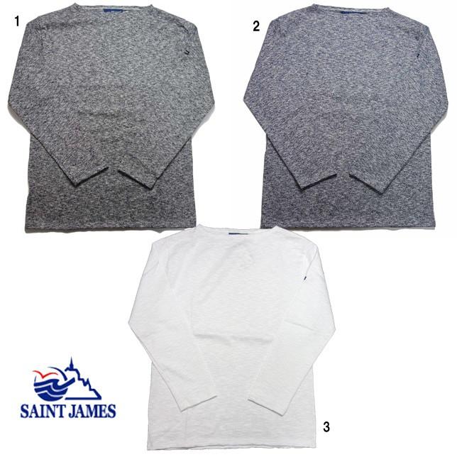 SAINT JAMES セントジェームス ウエッソン メランジェ ミックス杢素材 MELANGE メンズ レディース