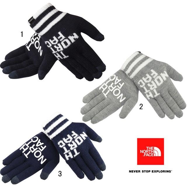 ノースフェイス ビッグロゴイーニットグローブ ユニセックス メンズ レディース ニット 手袋 NN61718