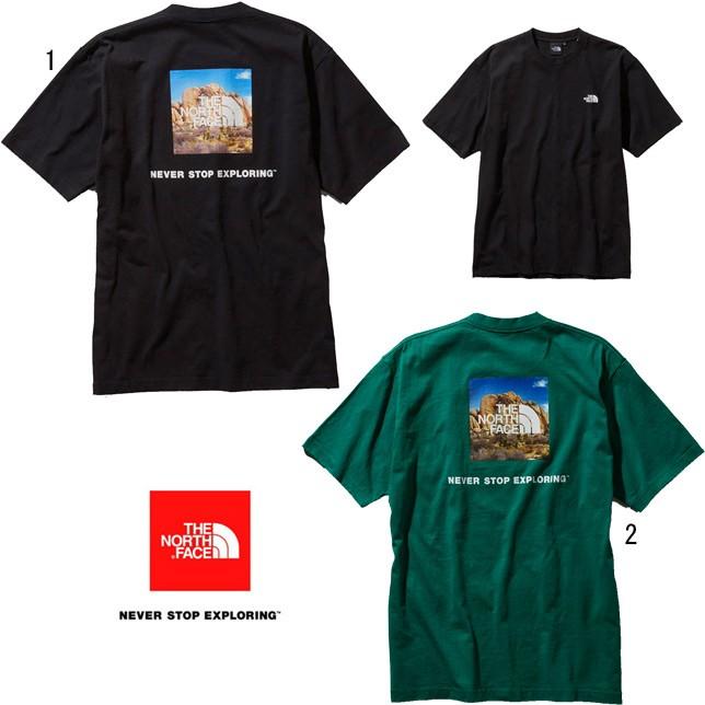 ノースフェイス ショートスリーブ スクエアロゴ ジョシュアツリーティー メンズ THE NORTH FACE NT31952 半袖 Tシャツ