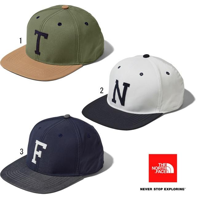 ノースフェイス THE NORTH FACE TNF イニシャルキャップ TNF Initial CAP NN01920 キャップ フリーサイズ