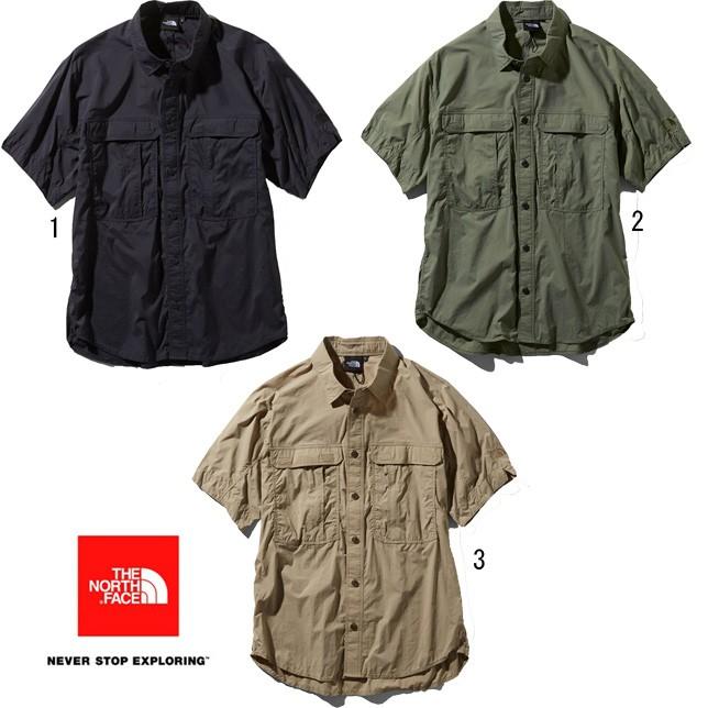 ノースフェイス THE NORTH FACE ショートスリーブメリディアンシャツ ユニセックス 半袖シャツ NR21963