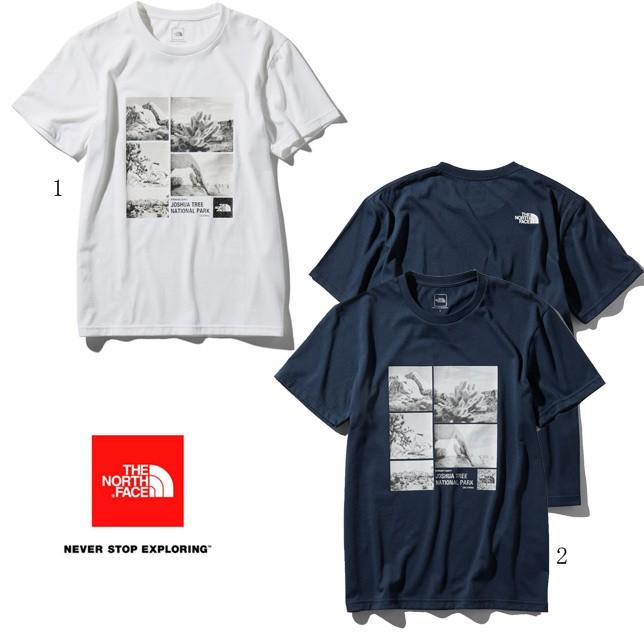 ノースフェイス ショートスリーブ フォトロゴティー メンズ 半袖 プリントTシャツ NT31933