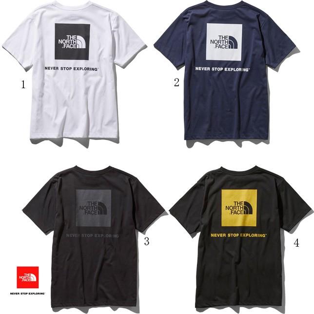 ノースフェイス Tシャツ メンズ スクエア ロゴ ティー 半袖 NT31957 THE NORTH FACE
