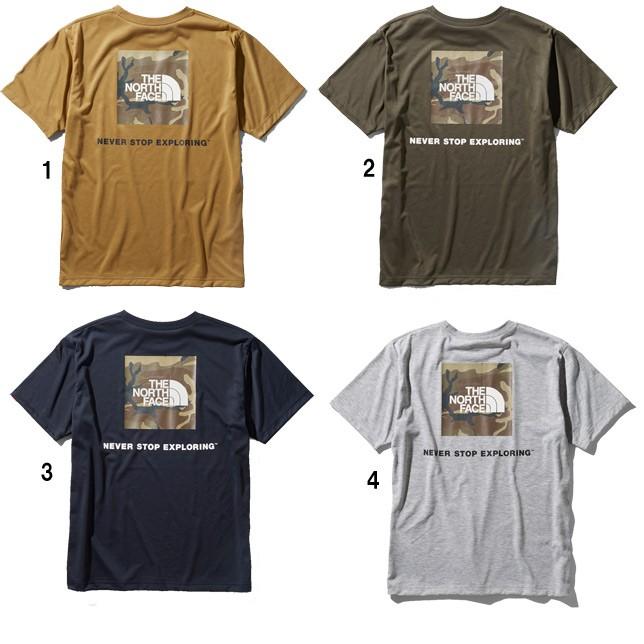 長崎県佐世保市ノースフェイス THE NORTH FACE Tシャツ ショートスリーブロゴカモティー メンズ NT32035