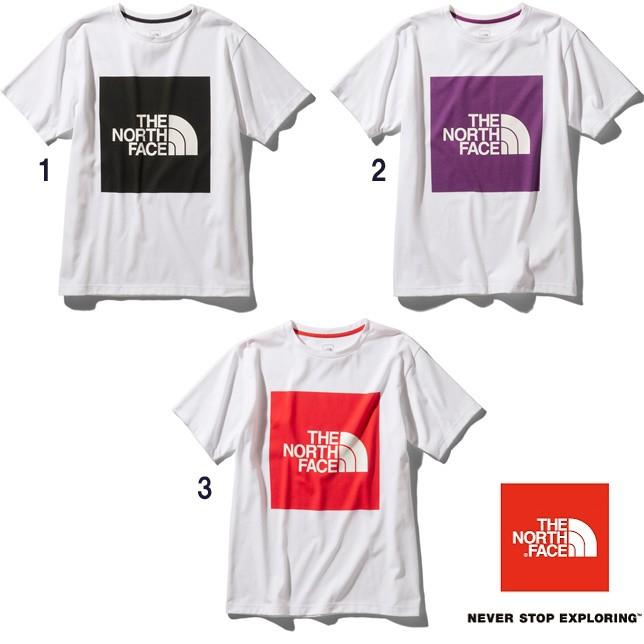 長崎県佐世保市ノースフェイス THE NORTH FACE Tシャツ ショートスリーブカラードビッグロゴティー メンズ NT32043