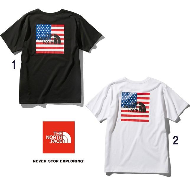 長崎県佐世保市ノースフェイス THE NORTH FACE Tシャツ ショートスリーブナショナルフラッグティー メンズ NT32053