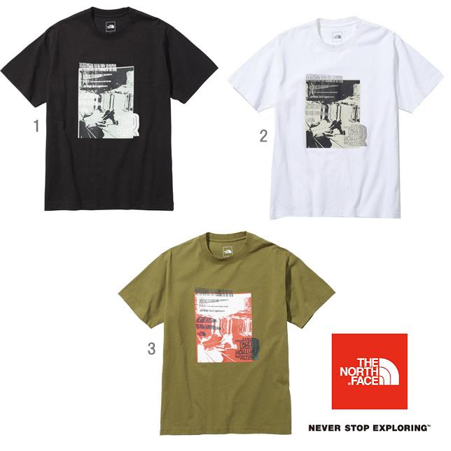 長崎県佐世保市ノースフェイス ショートスリーブフォトティー メンズ THE NORTH FACE NT32112 半袖 Tシャツ