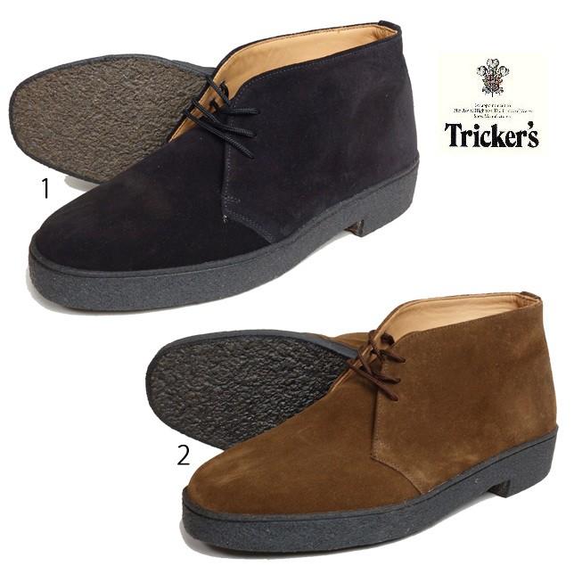 Tricker's トリッカーズ マッドガードスウェードチャッカブーツ M5265 メンズ