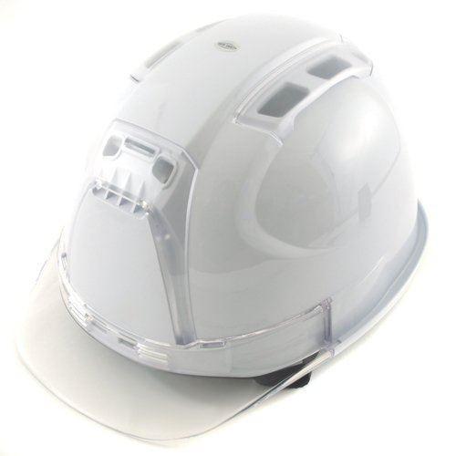 トーヨーセーフティー No.390F 透明ひさし 作業用 ヘルメット Venti(通気孔付き/ライナー入)/  工事用 建設用 建築用 現場用 高所用 保護帽 安全 ヴェンティー|proshophamada|10