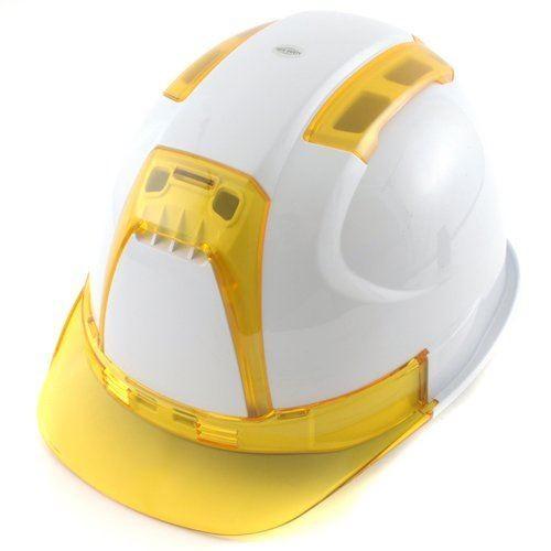 トーヨーセーフティー No.390F 透明ひさし 作業用 ヘルメット Venti(通気孔付き/ライナー入)/  工事用 建設用 建築用 現場用 高所用 保護帽 安全 ヴェンティー|proshophamada|12