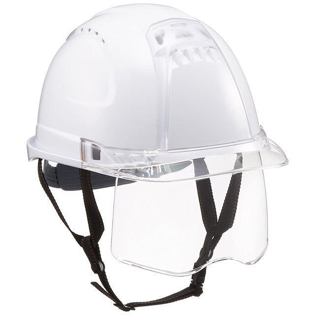 トーヨーセーフティー No.391F ワイドシールド面付き 作業用 ヘルメット Venti plus(通気孔付き/ライナー入り)/ 安全 工事 建設 建築 現場 高所 保護帽|proshophamada|20