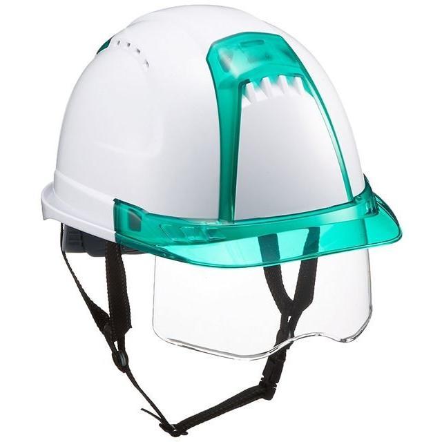 トーヨーセーフティー No.391F ワイドシールド面付き 作業用 ヘルメット Venti plus(通気孔付き/ライナー入り)/ 安全 工事 建設 建築 現場 高所 保護帽|proshophamada|22